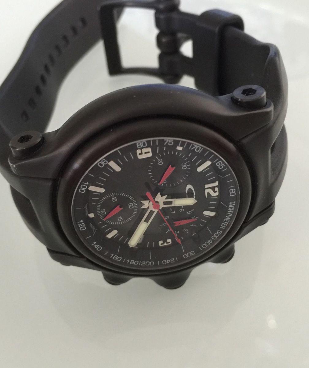 d628fb65689 relógio oakley holeshot black - original - relógios oakley