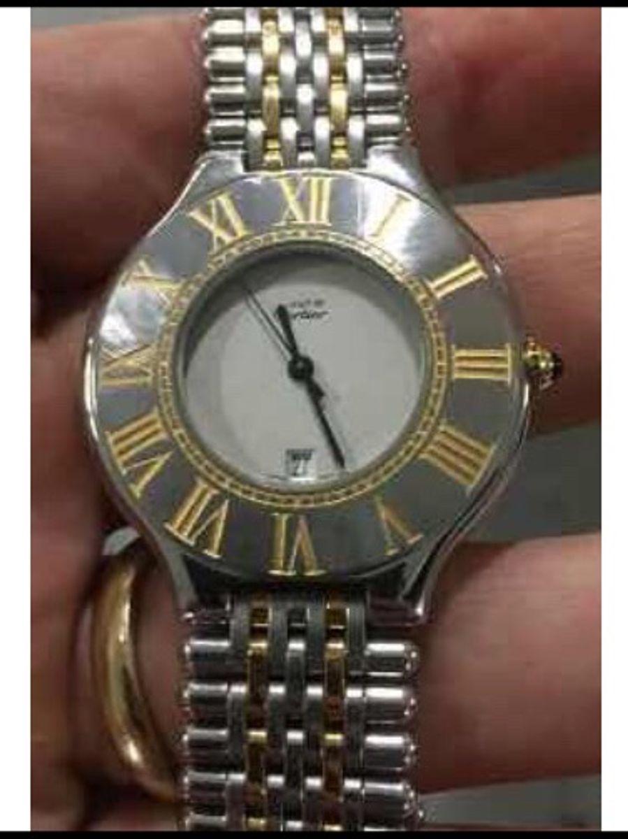 9799652ee2f relógio original must de cartier 37 mm masculino - relógios cartier