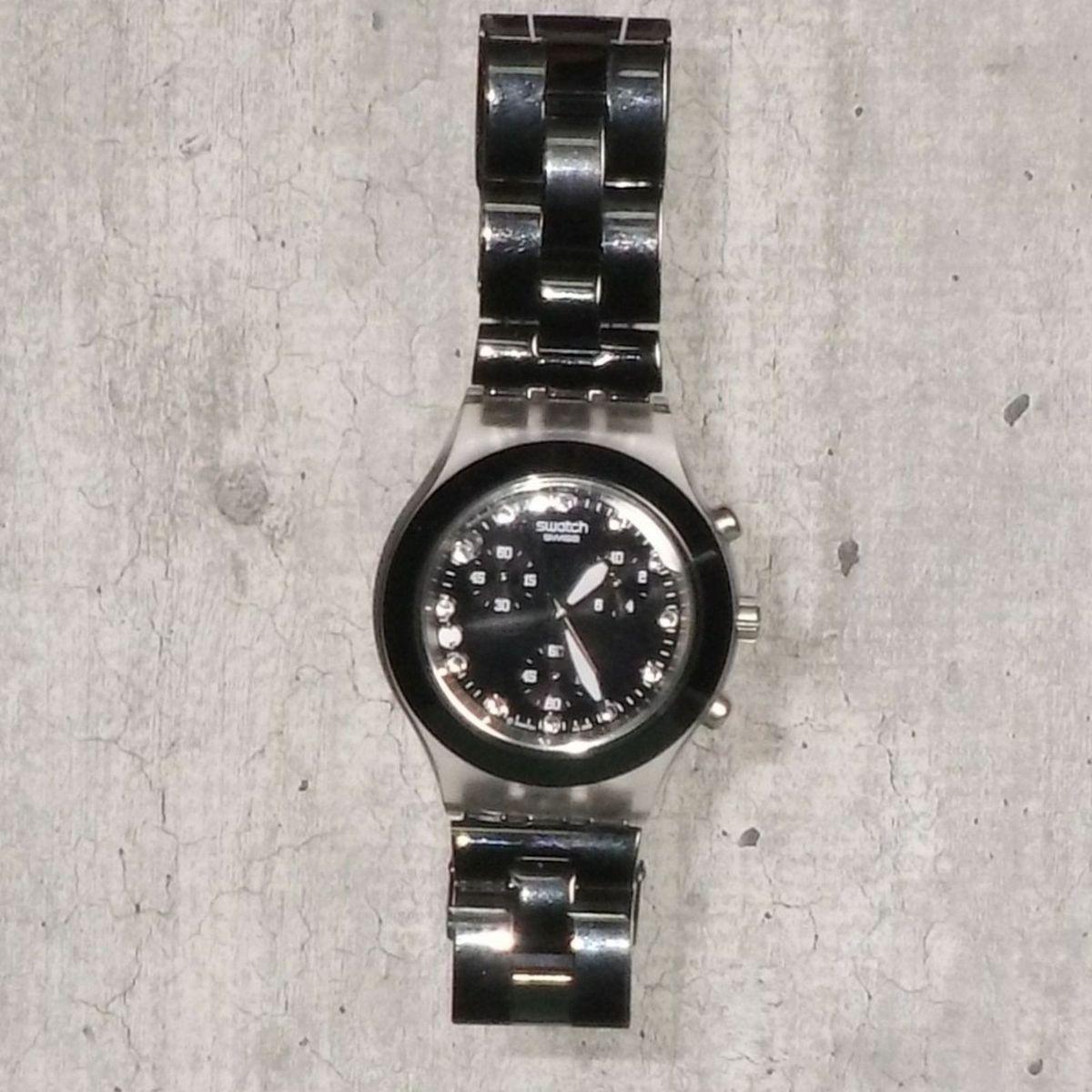 6a5cd05195e Relógio Preto Swatch