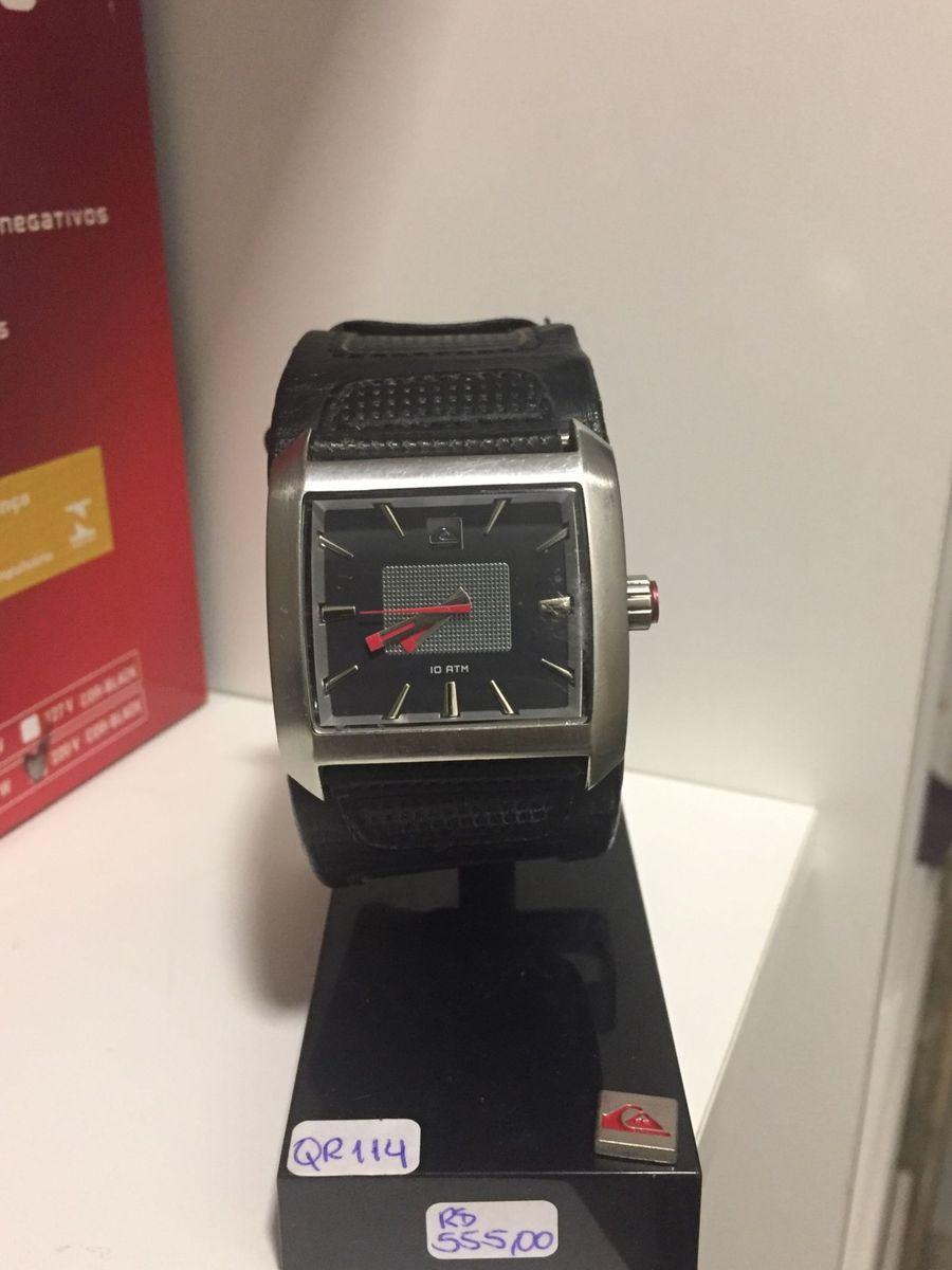 Relógio Quiksilver Sequence Black   Relógio Masculino Quiksilver ... 74430a9ba6
