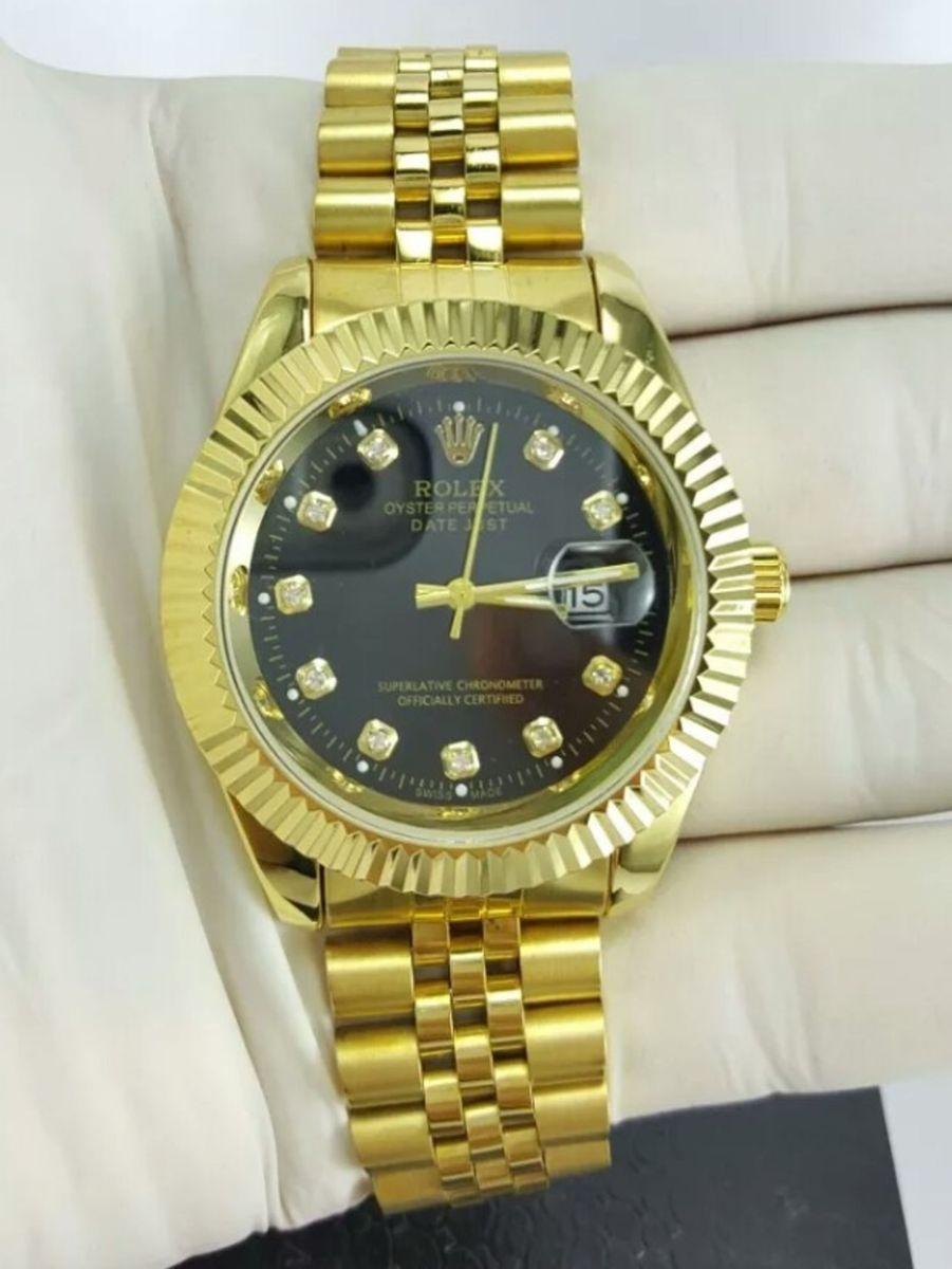 9185e5c6ccb relógio rolex datejust presidente novo na caixa todo funcional - relógios  rolex