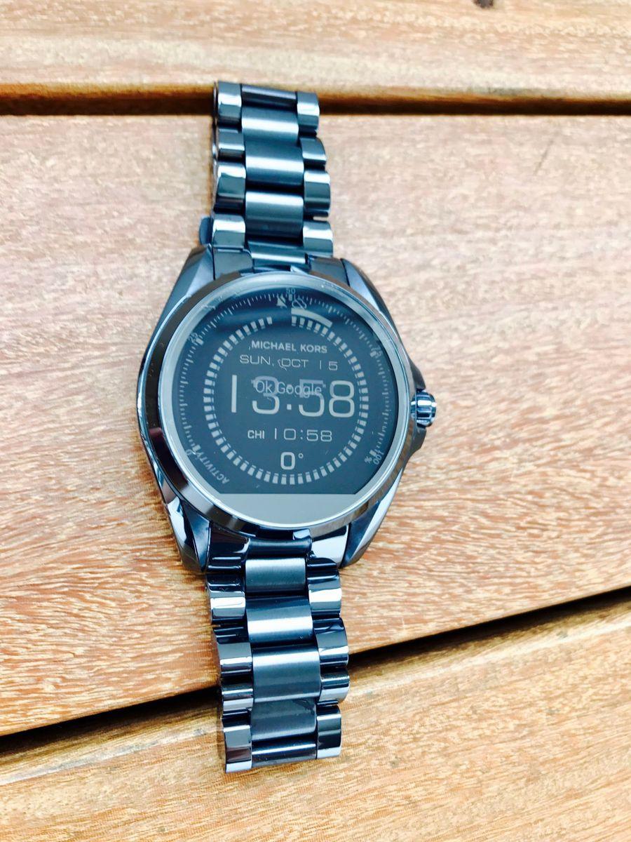 12b415d28987a relógio smartwatch michael kors access touchscreen - relógios michael kors