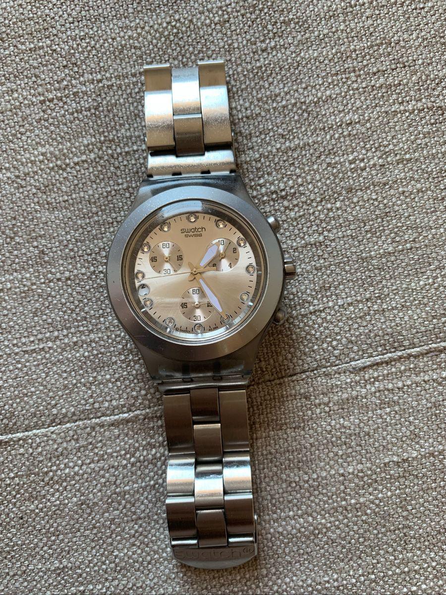 6d9178219af relogio swatch full blooded prata - relógios swatch.  Czm6ly9wag90b3muzw5qb2vplmnvbs5ici9wcm9kdwn0cy81mzaxny84nmvmm2ezntbkywyzy2m3ody2mzvmyzuynjfimdblns5qcgc  ...