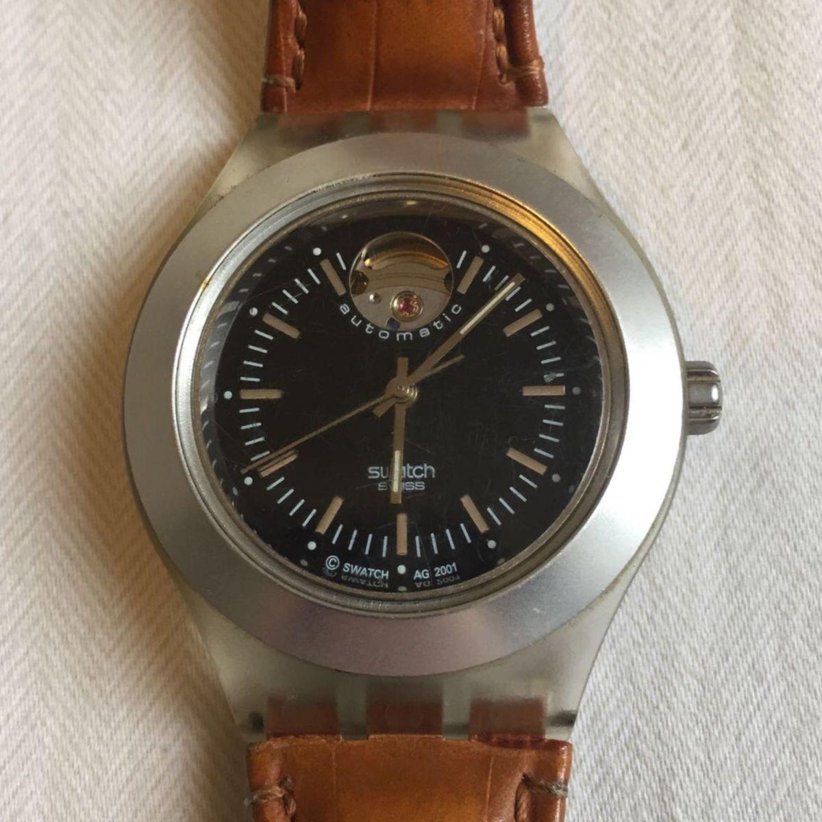 ef8f9a8a87e Relógio Swatch Irony Automático