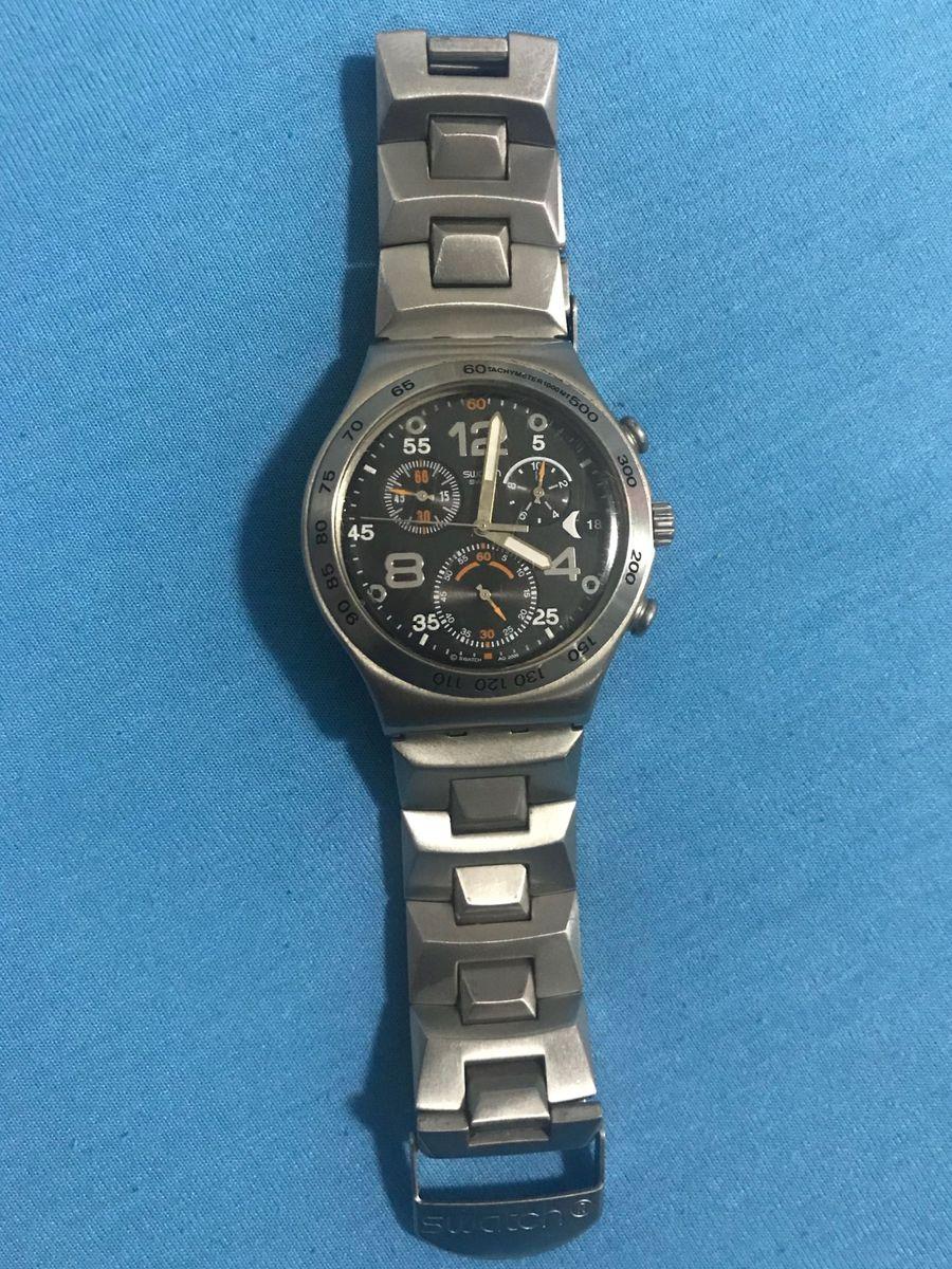 5e8fc73b0a7 relógio swatch irony original - relógios swatch.  Czm6ly9wag90b3muzw5qb2vplmnvbs5ici9wcm9kdwn0cy81oda0ntm4lzc2nte2ytjjmmyzndrkmtlmyzhhyjg2y2yyzwnmoda1lmpwzw  ...