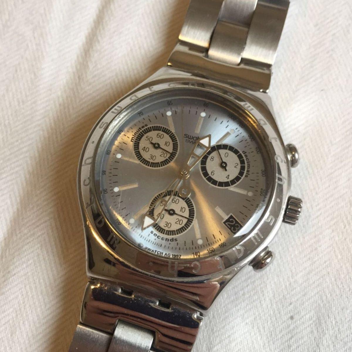 485593b2bb6 relógio swatch irony