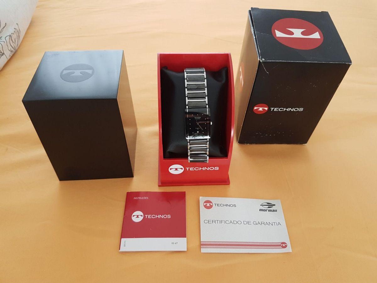 5d329e4af2660 Relógio Technos Ceramic Sapphire Wr   Relógio Feminino Technos Nunca Usado  30176449   enjoei
