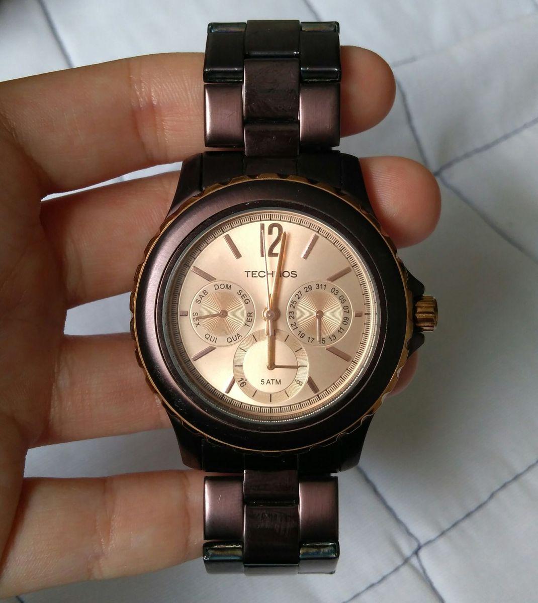 relógio technos feminino elegance st. moritz 6p29jh 1t - relógios technos 08553d90a6