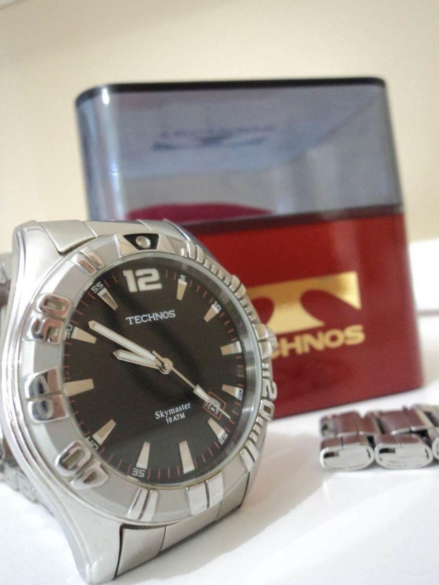 Relógio Technos Skymaster 2315 Ah - Masculino   Relógio Masculino ... 752db796f7