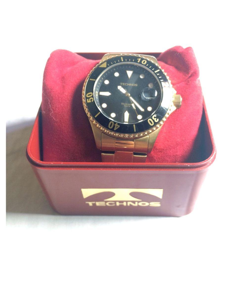 7c926a2e01b6a Relógio Technos Skymaster Original   Relógio Masculino Technos Usado ...