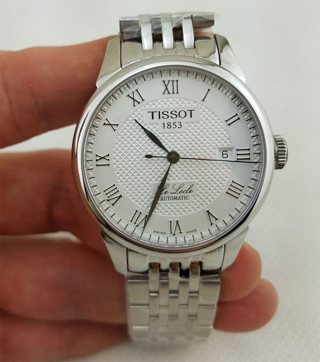 e581d04a5cd relógio tissot le locle automático na caixa tissot - relógios tissot