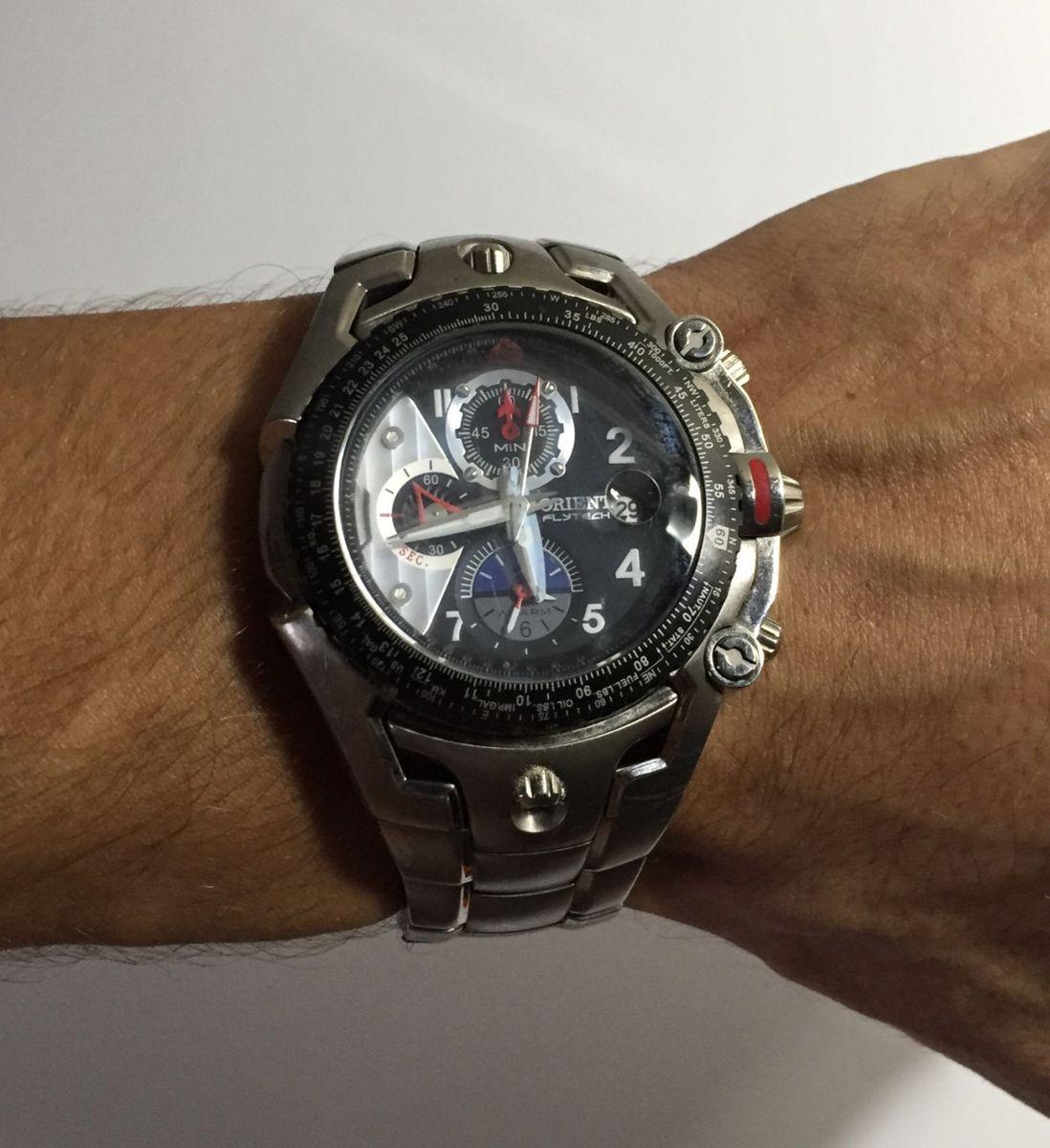 a8c6d814694 relógio titanium flytech orient - relógios orient