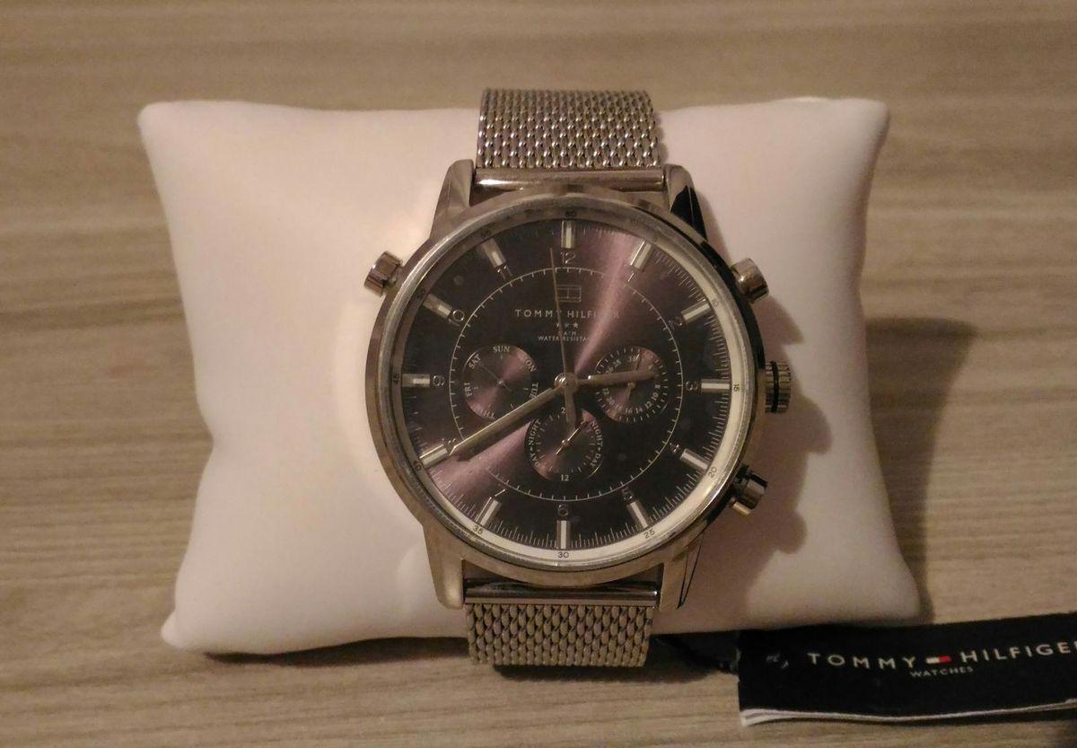 80a4e80e554 relógio tommy hilfiger aço inox 1790877 - relógios tommy hilfiger