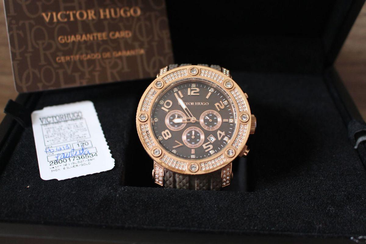 16d04b5e306 relogio victor hugo original - relógios victor-hugo