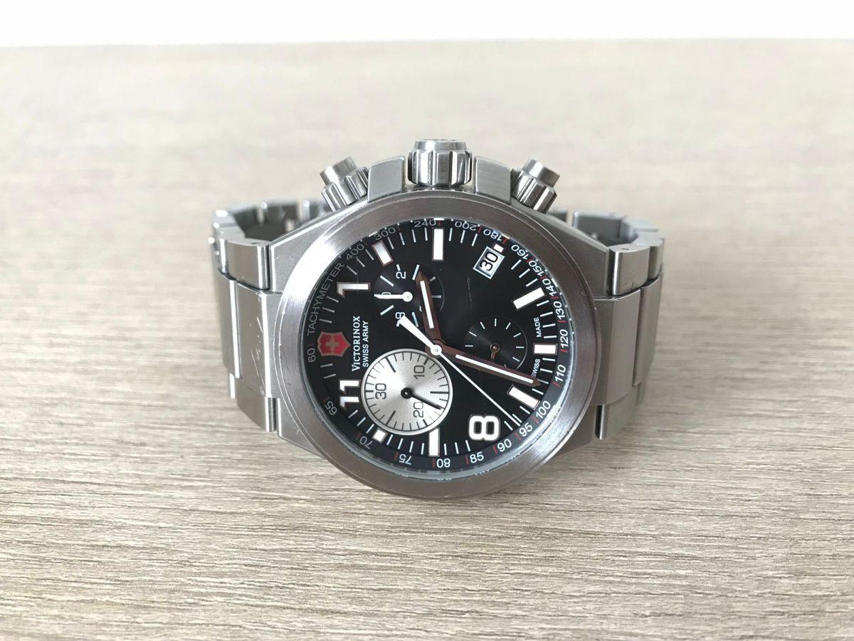 b049a623c16 relógio victorinox swiss army 241158 convoy chrono - relógios victorinox