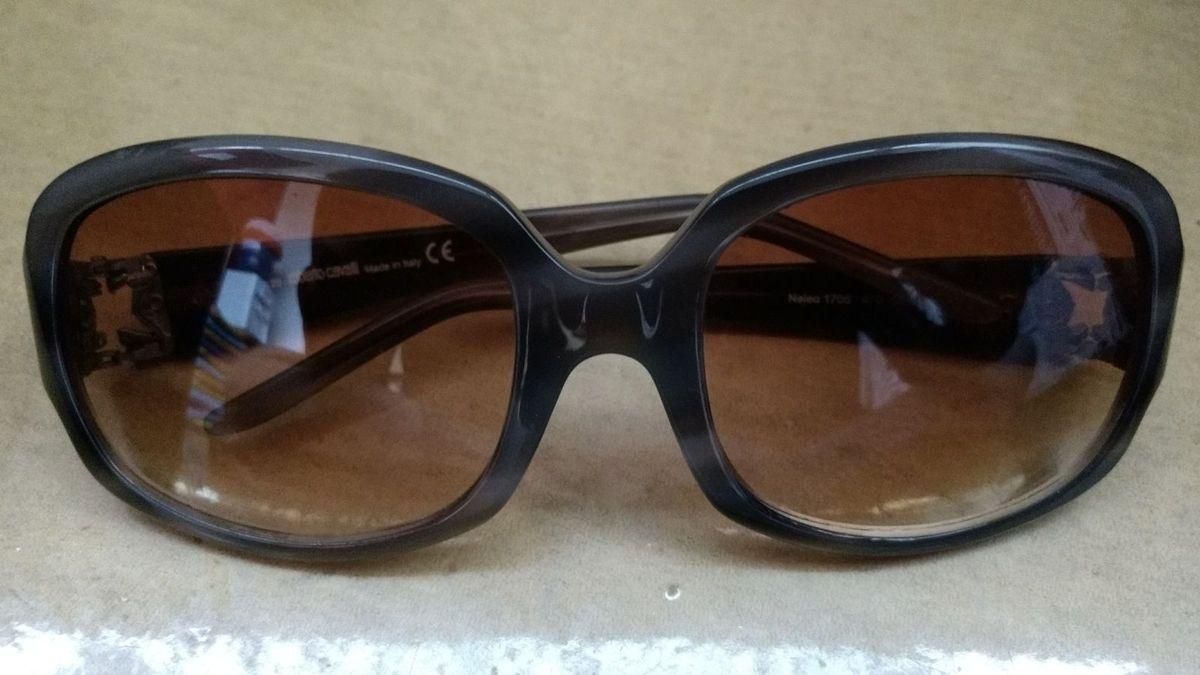 ee7f1bd3a9fe5 Roberto Cavalli Sunglasses   Óculos Feminino Roberto Cavalli Usado ...