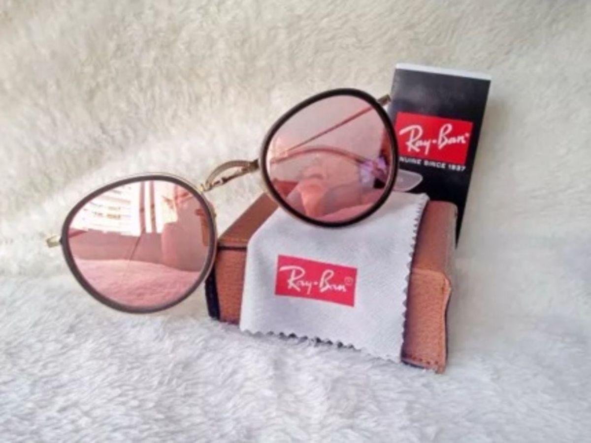 c964ebaf2c5fd round dobrável rosa - óculos ray ban.  Czm6ly9wag90b3muzw5qb2vplmnvbs5ici9wcm9kdwn0cy8zndi4otmvogyxmza4m2nmm2q0yzdhm2rinjfkzgu3zjyymdblogiuanbn  ...