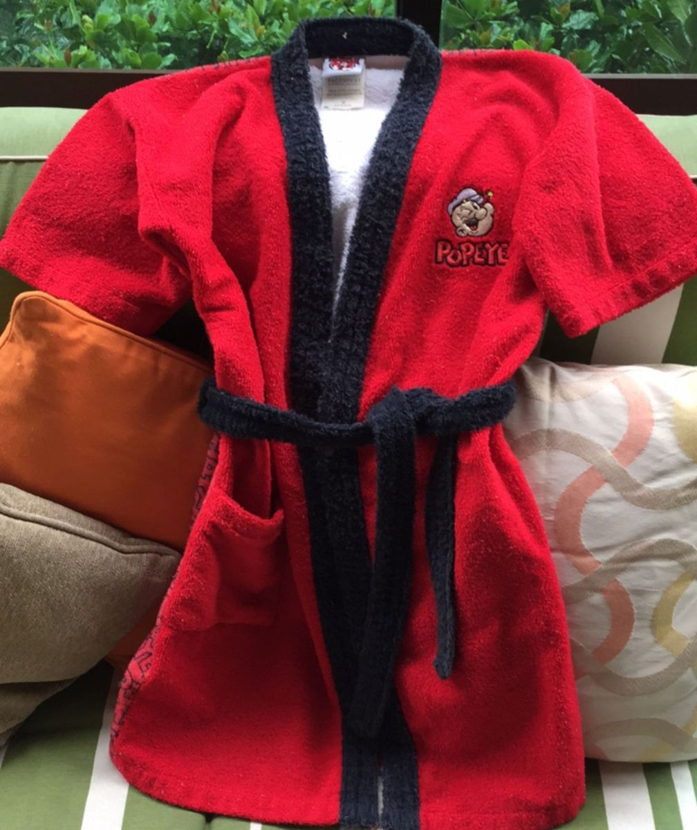 roupão de banho oficial loja flamengo - menino fla boutique