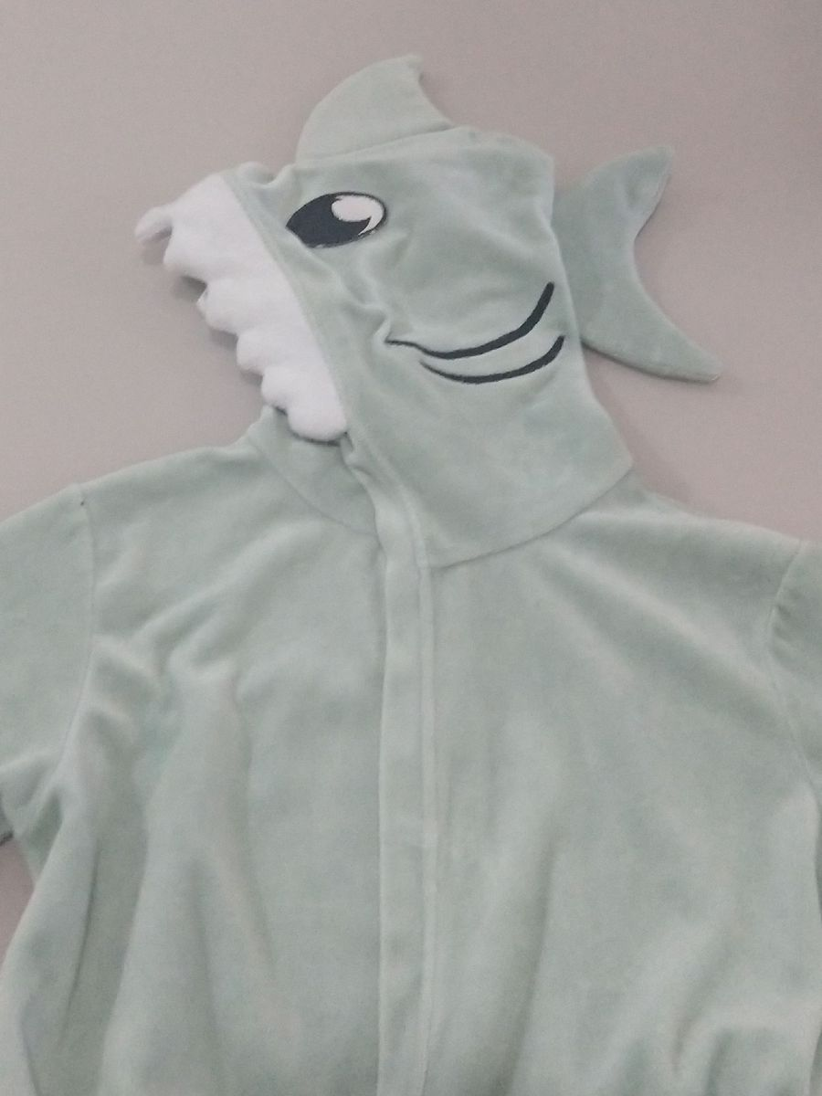 roupão do tubarão - menino sem marca