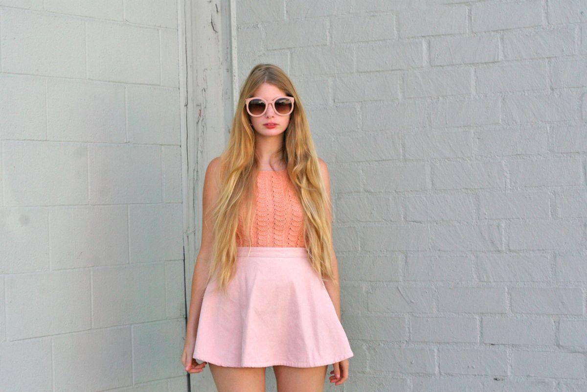 saia american apparel legítima veludo cotelê de algodão grosso denim circle skirt rodada off white - saias american apparel