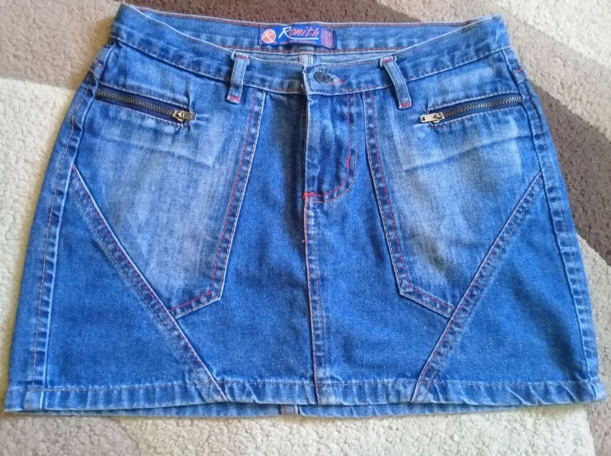 saia jeans - saias ronith