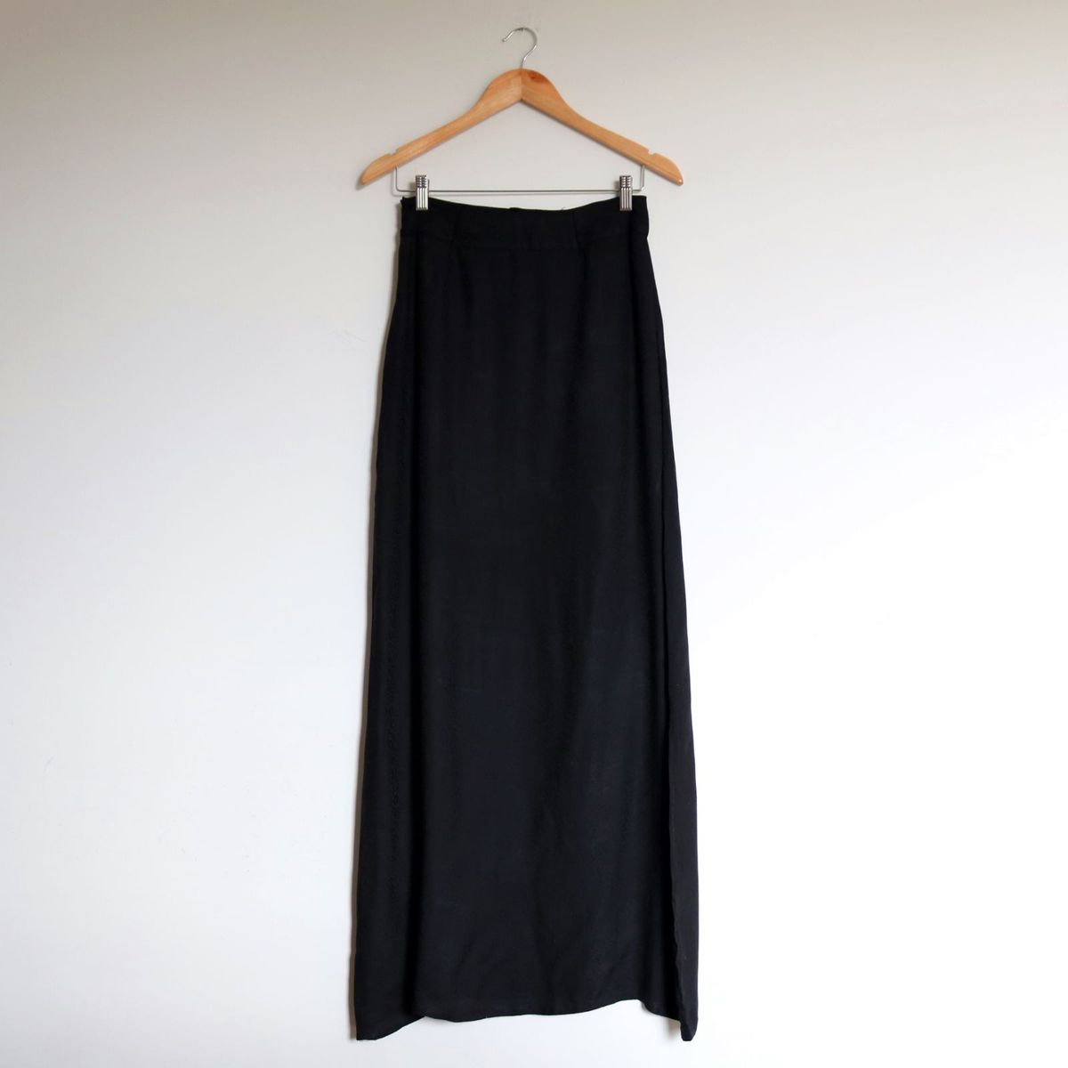 saia longa preta - saias sem marca