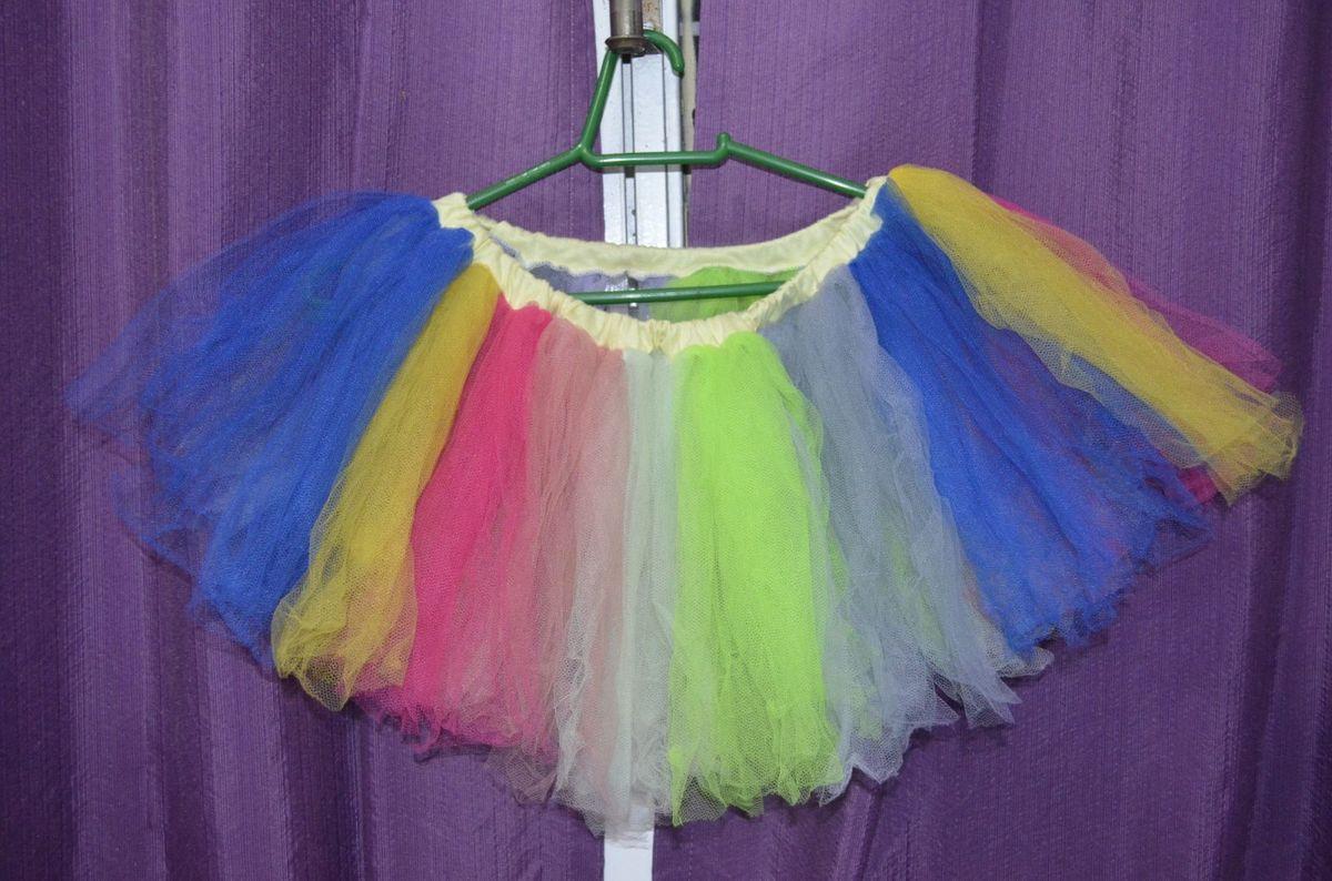 c1248e9221 saia tutu de bailarina tule colorida - saias sem marca