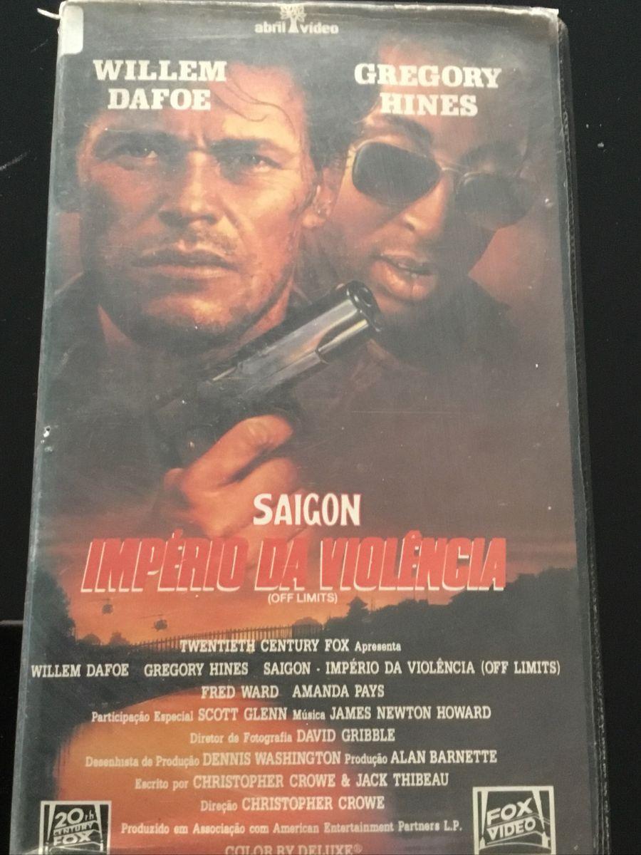 Saigon - Império da Violência Fita Vhs Original | Filme e Série Abril-Video  Usado 43695004 | enjoei