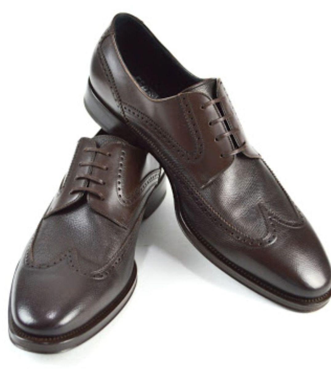 86a4d692bd99d salvatore ferragamo sapato marciano marrom escuro novo - sapatos salvatore  ferragamo