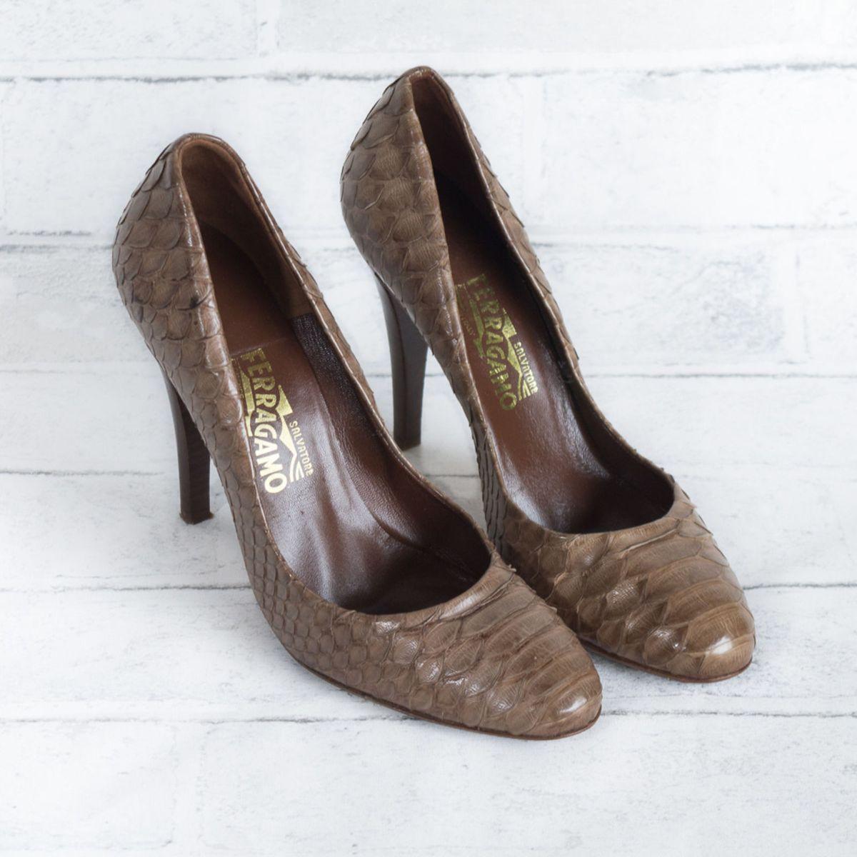 salvatore ferragamo sapato piton python italiano - sapatos salvatore  ferragamo 95c1455245