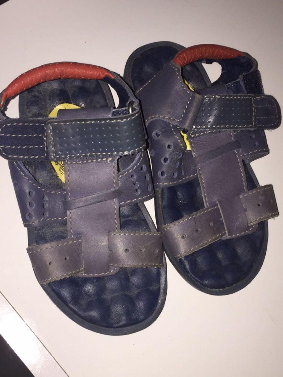 37c43a6ea Sandalia Azul Marinho Perfeita! | Calçado Infantil para Meninos ...