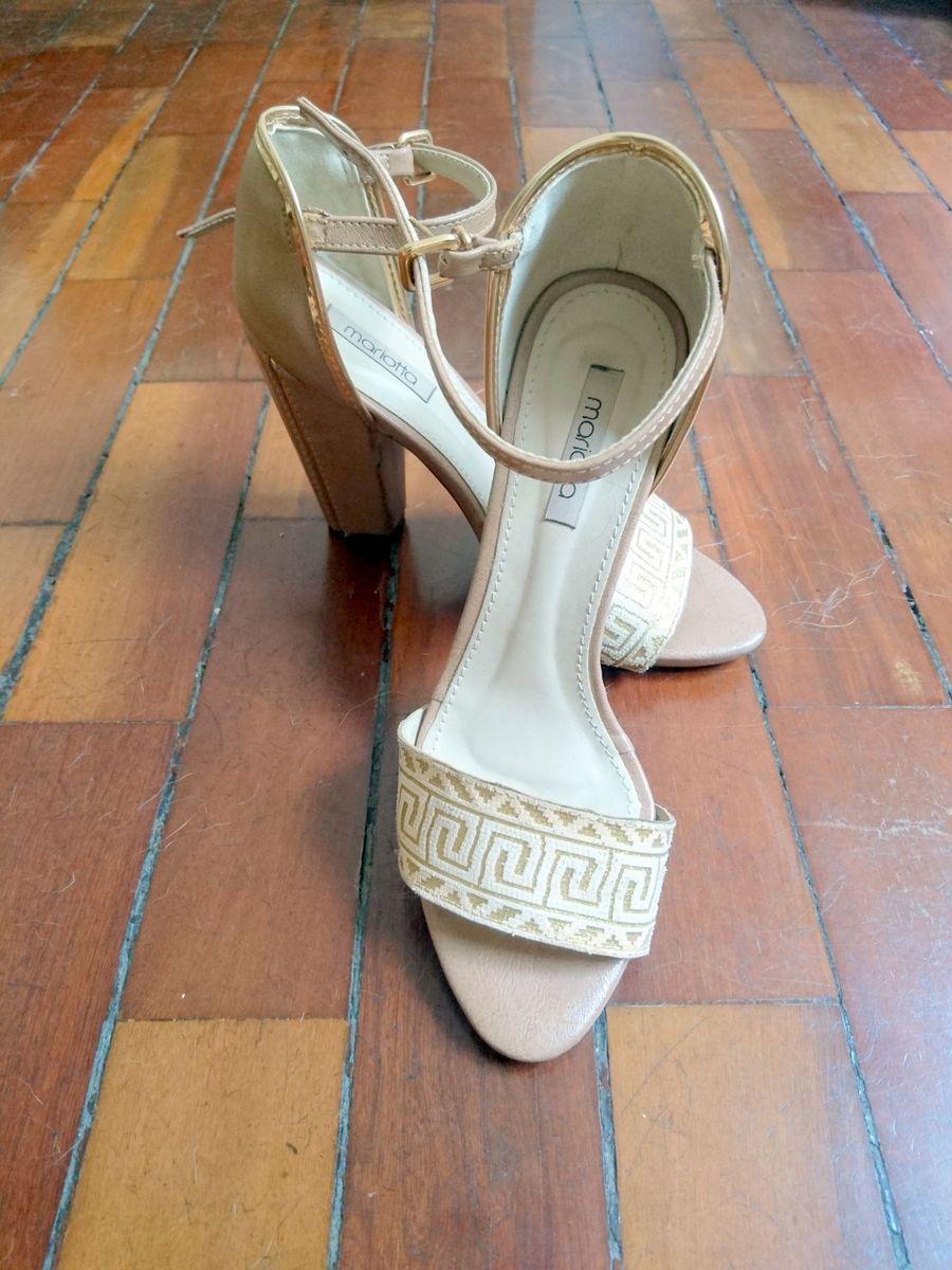 sandália boho/clássica - sandálias mariotta