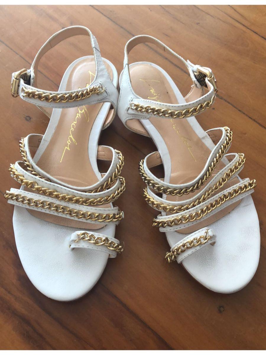 cc887242b5 sandália branca luiza barcelos - sandálias luiza barcelos