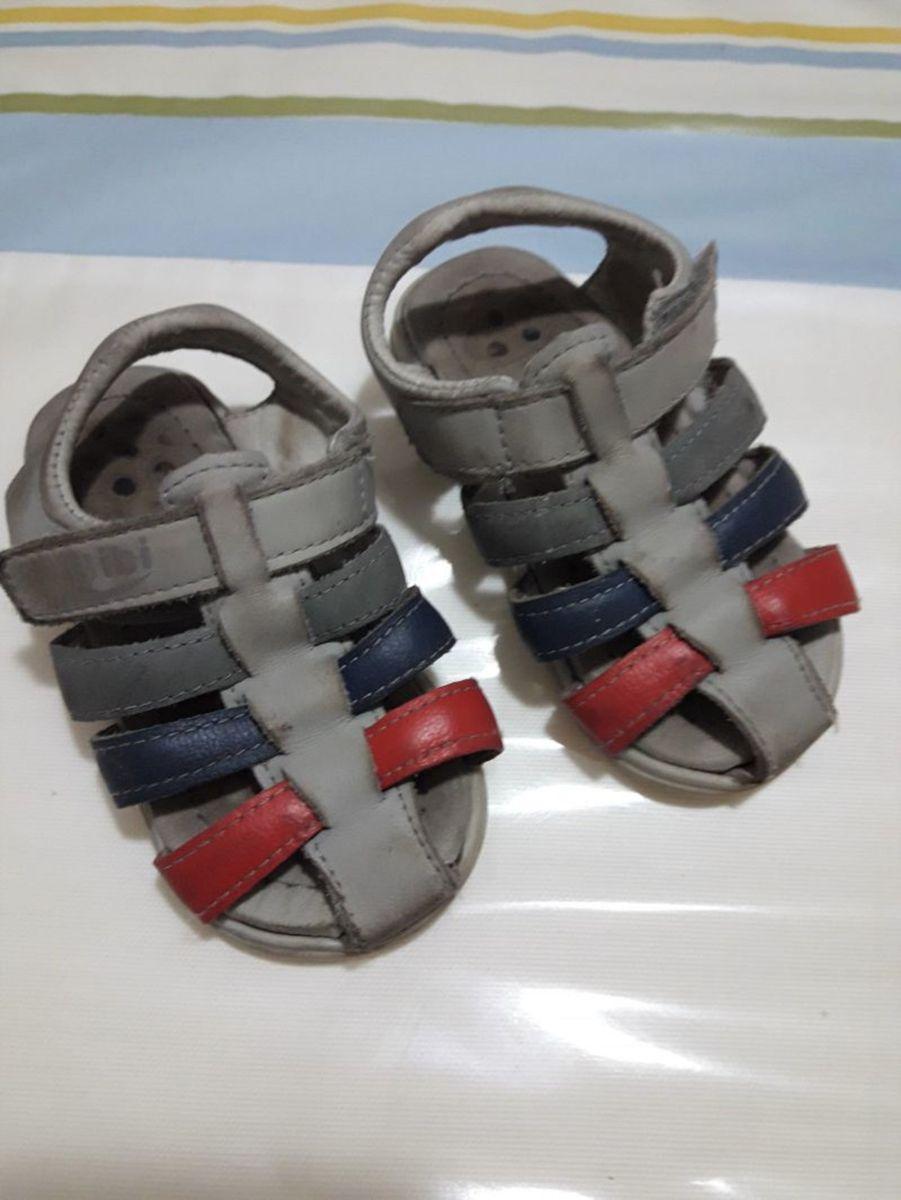 7ee1cb2cc sandália de velcro bibi fisio flex bebê menino - tam 20 - menino bibi