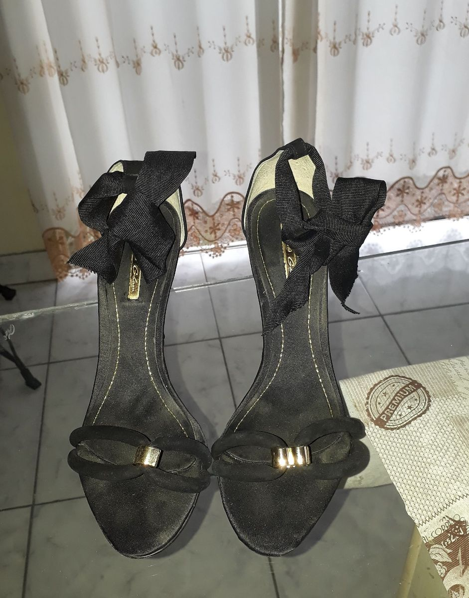 sandália laço - sandálias dumond