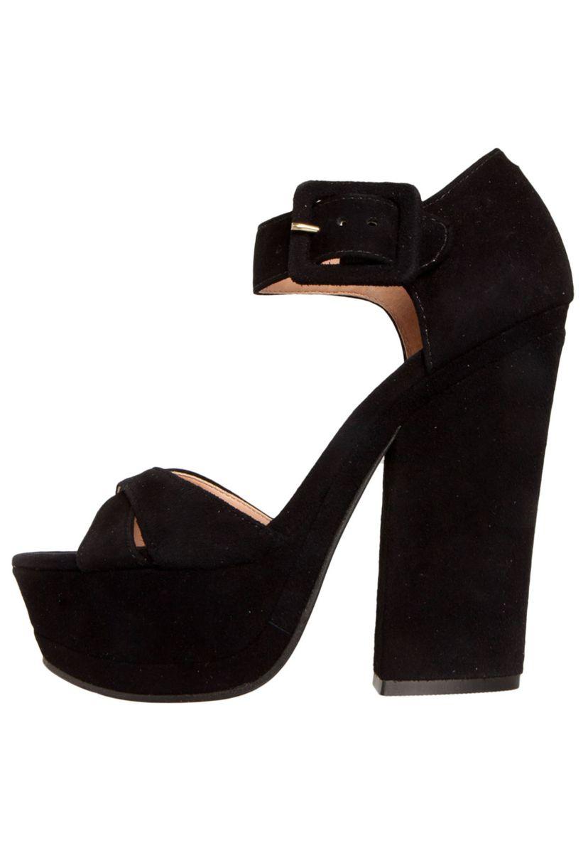 a7b5b31138 sandália luiza barcelos meia-pata salto grosso preta - sandálias luiza  barcelos