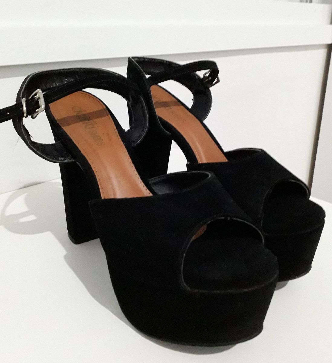 sandália meia pata - sandálias dafiti shoes