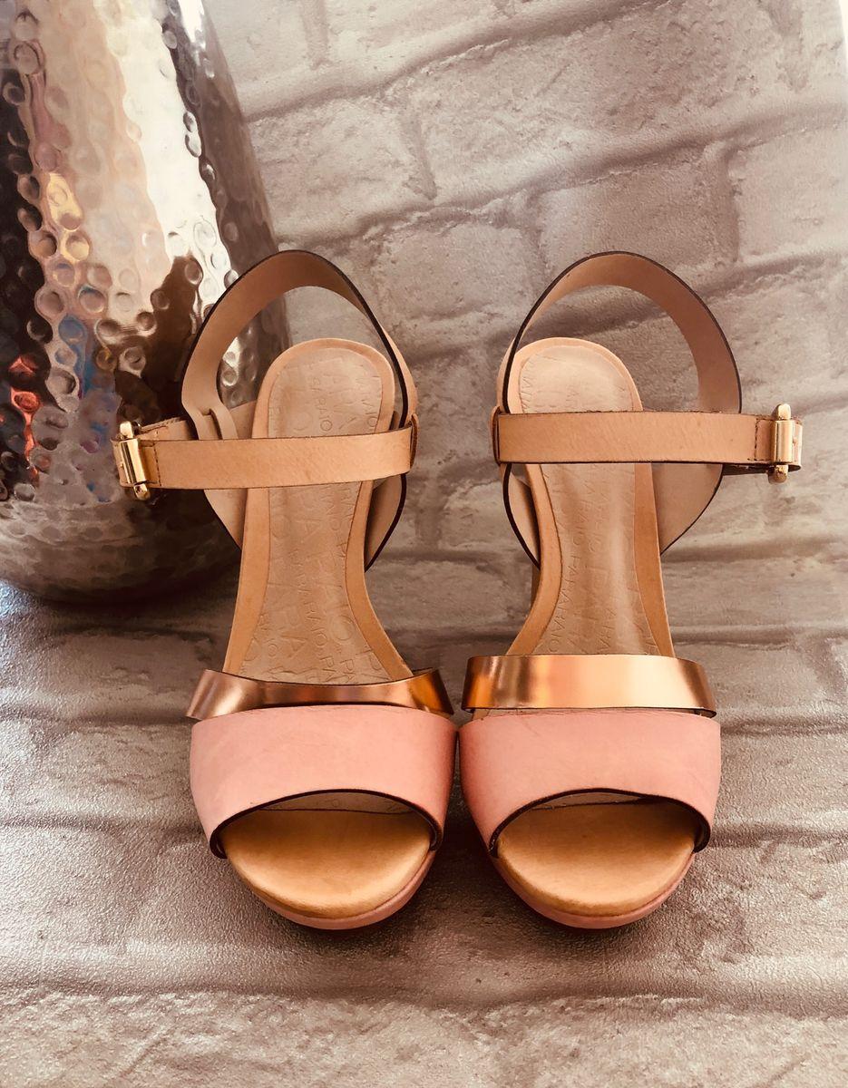 sandália plataforma para-raios - sandálias para raio