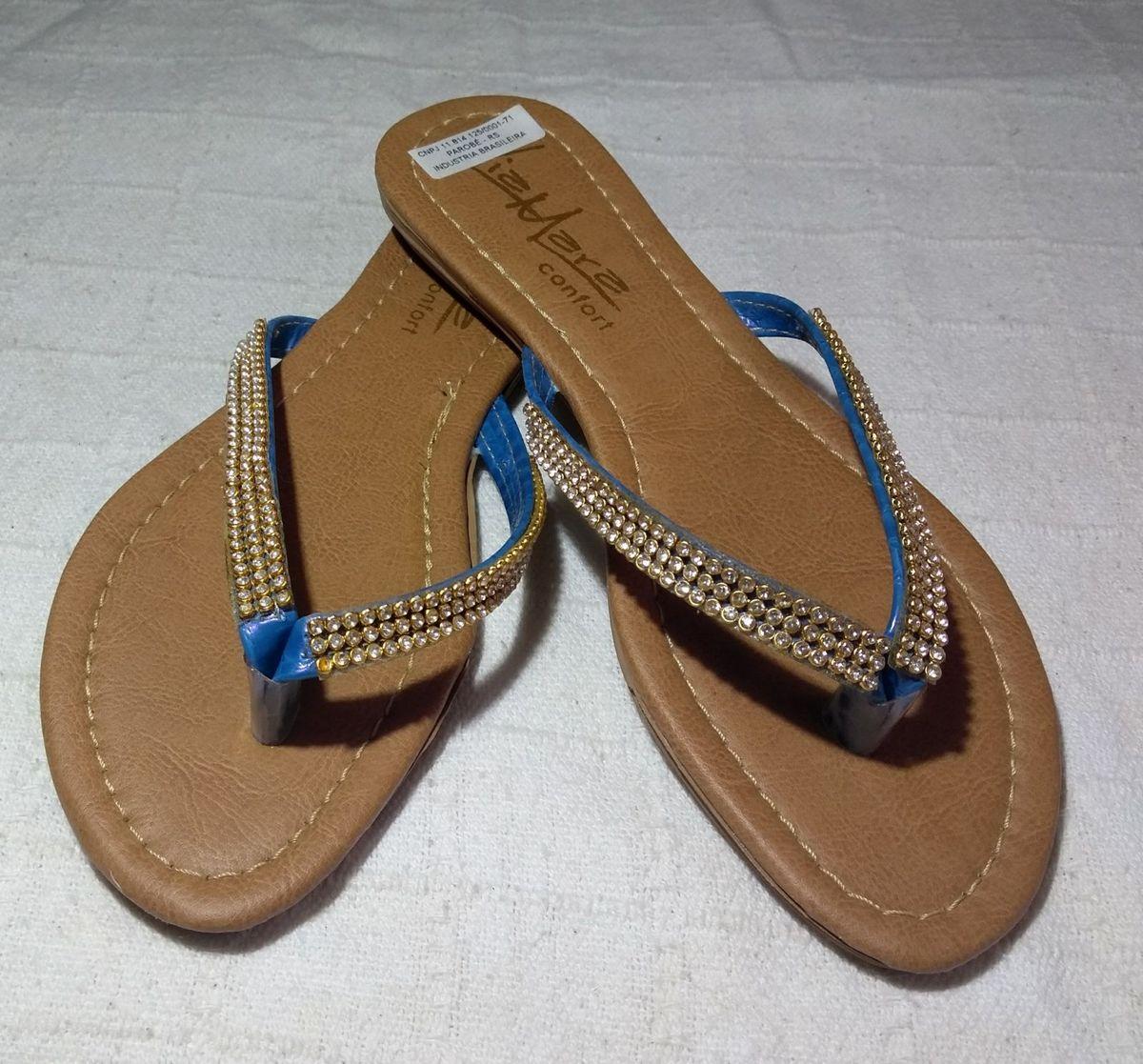 sandália via mara - sandálias via-mara