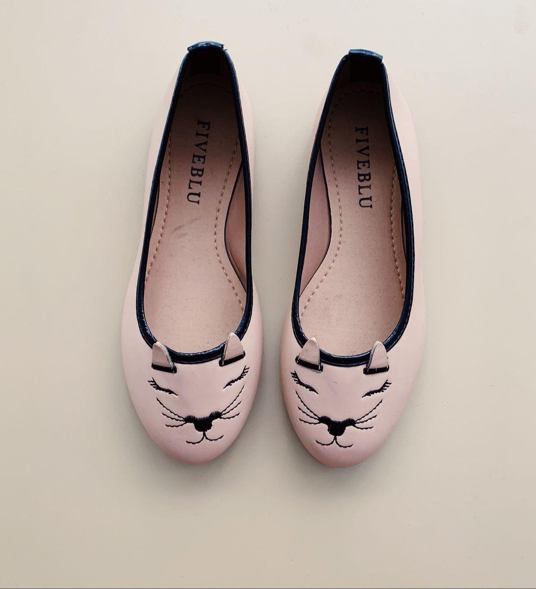 sapatilha de gatinho - sapatilha fiveblu