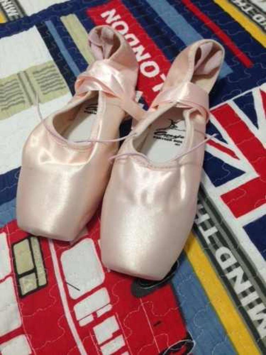 dfb186b94c sapatilha de ponta partner box 182 + ponteira de silicone - sapatilha  capezio