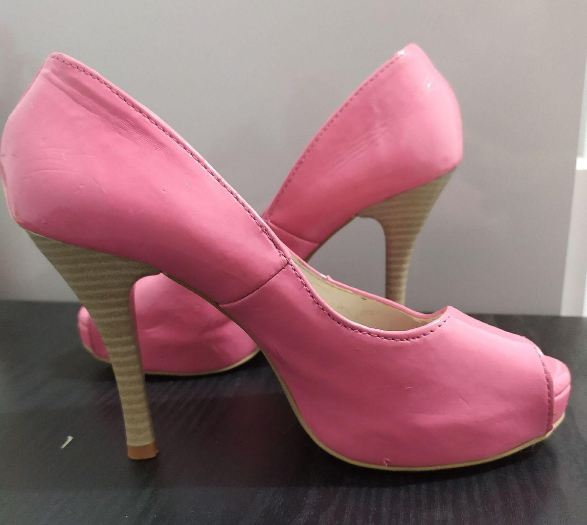 sapato amuleto rosa - sapatos amuleto