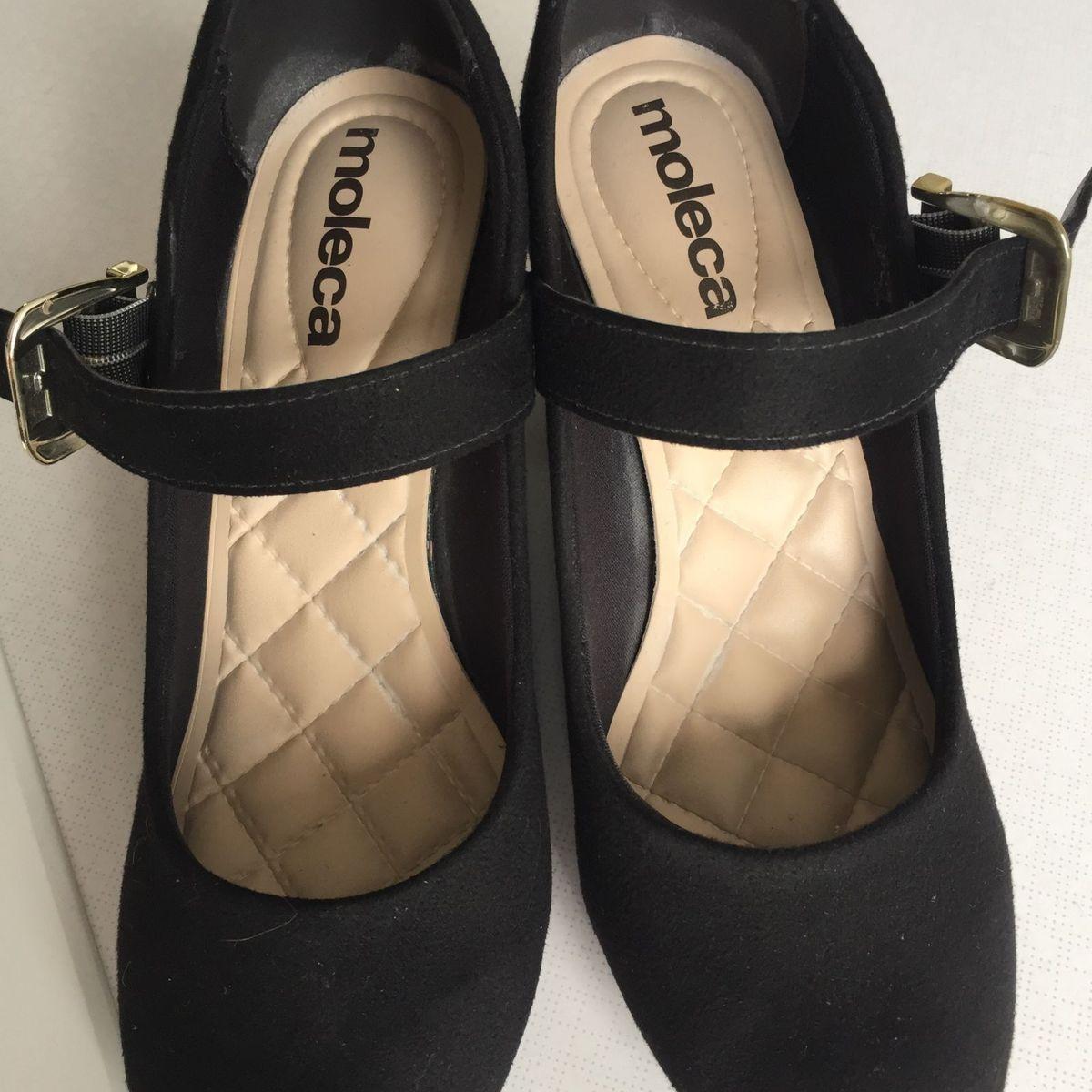 7c0a4915c Sapato Boneca Moleca | Sapato Feminino Moleca Usado 31223207 | enjoei