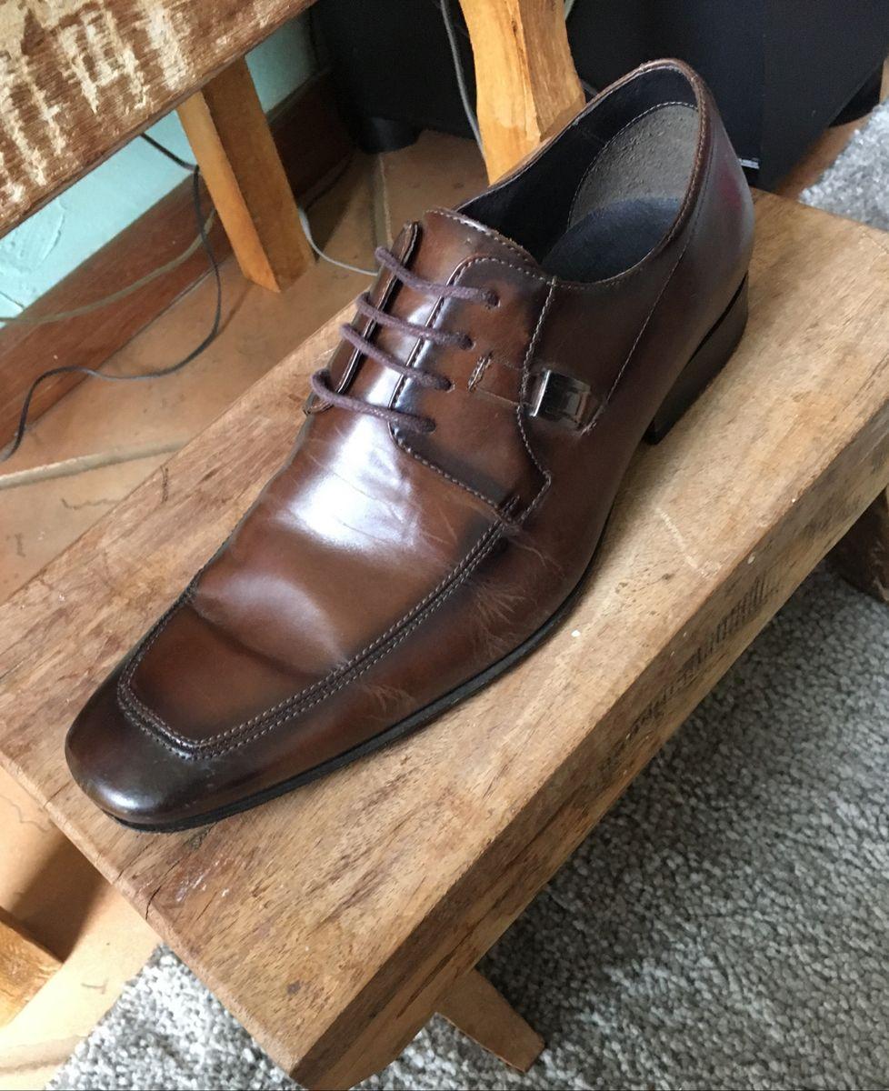 76f23d0e7f Sapato Cns Marrom Café - Linha Premium | Sapato Masculino Cns Usado ...