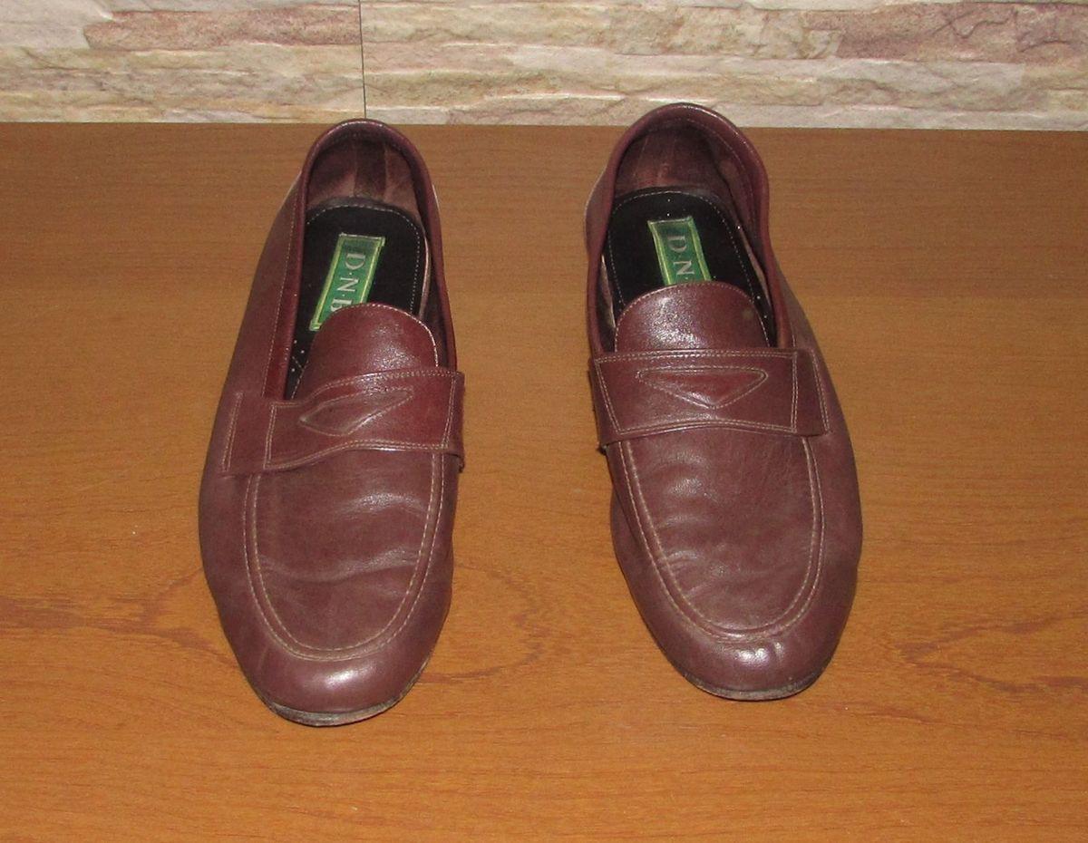 Sapato de Couro Masculino, 44, Marrom   Sapato Masculino D.N.B. ... d0c2ed7262