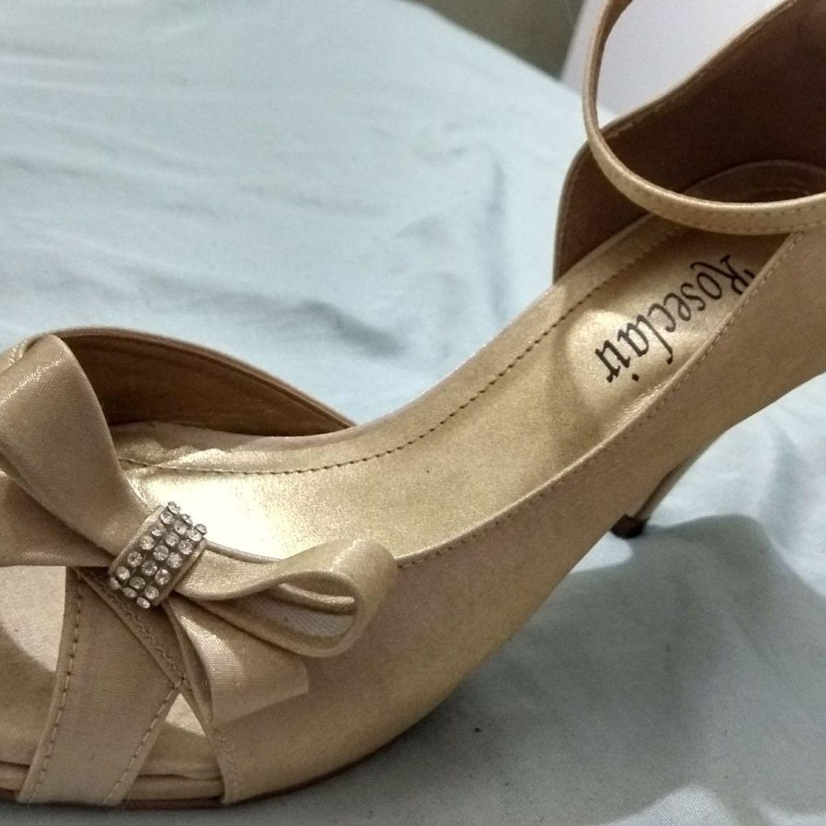 8f015339a Sapato de Festa | Sapato Feminino Roseclair Usado 28697352 | enjoei