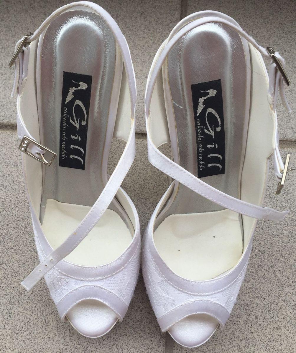 8abec3cf0 sapato de noiva feito sob medida! luxo... - casamento gill calçados