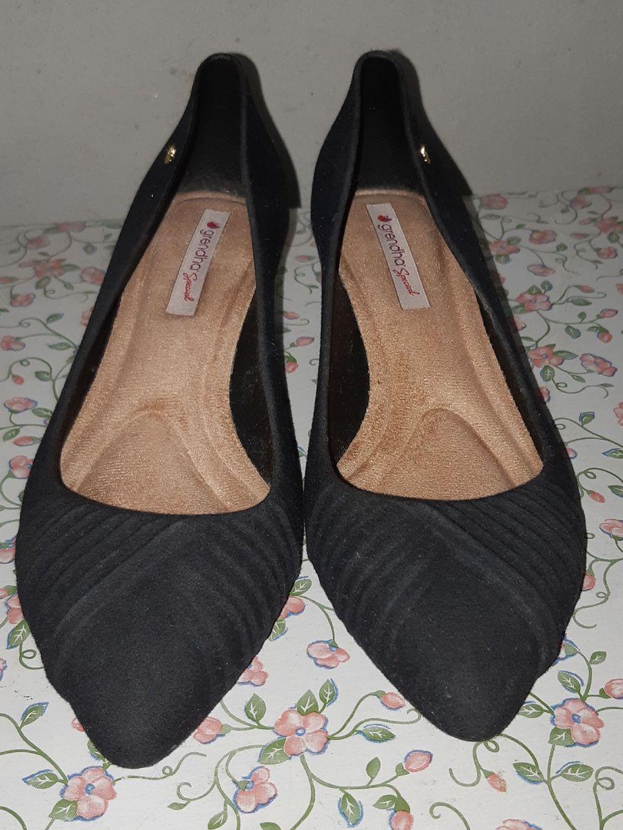 sapato de salto grendha - sapatos grendene