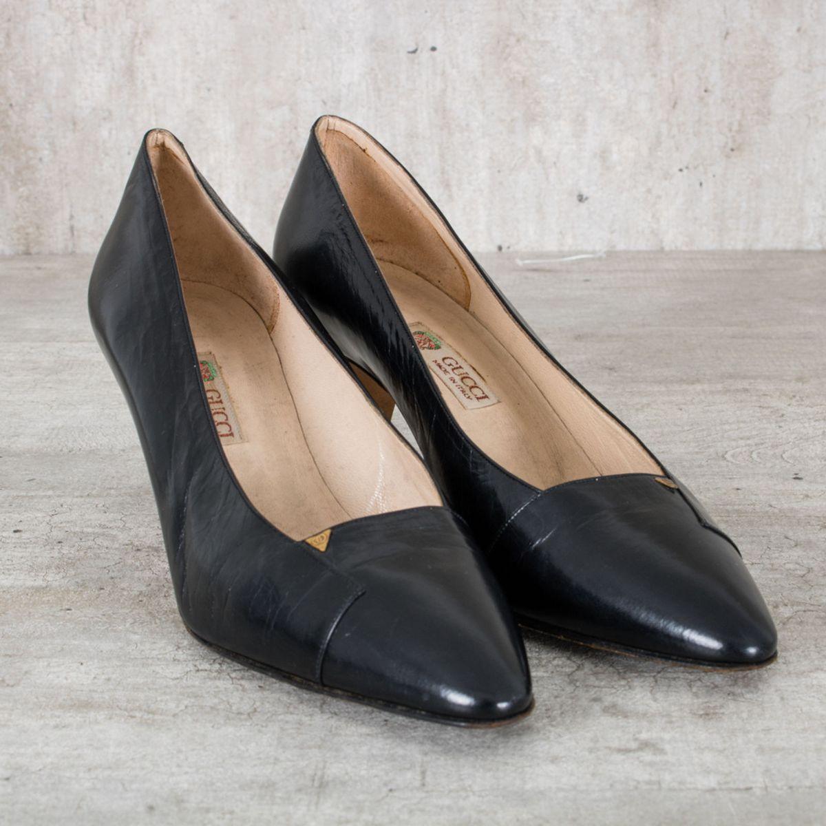 19eecc4b8 Sapato Scarpin Gucci | Sapato Feminino Gucci Usado 25334434 | enjoei