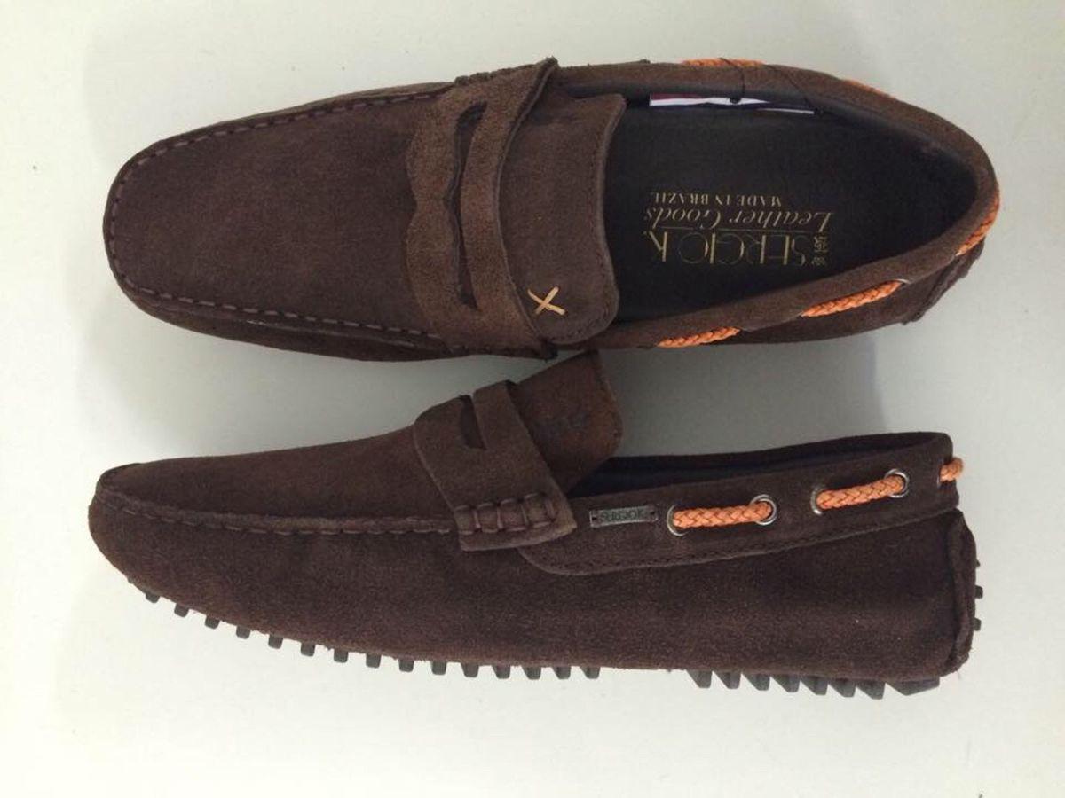 b3eb7c0d48 sapato sérgio k couro legítimo (sapatilha driver) frete grátis original -  sapatos sérgio k